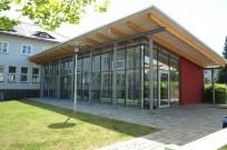 "Kassel, Evang. Schule ""Fröbelseminar"" - Pflasterung vor Bibliothek"
