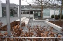 """Kassel, Evang. Schule """"Fröbelseminar"""" - Innenhof"""