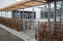 "Kassel, Evang. Schule ""Fröbelseminar"" - Seiteneingang"